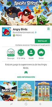 Samsung Galaxy S8 Plus - Aplicaciones - Descargar aplicaciones - Paso 17