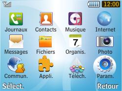 Samsung S3350 Chat 335 - Internet - configuration manuelle - Étape 4