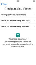 Apple iPhone iOS 8 - Primeiros passos - Como ativar seu aparelho - Etapa 14