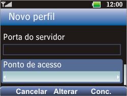 LG C365 - Internet - Como configurar seu celular para navegar através de Vivo Internet - Etapa 16