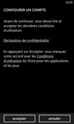 Nokia Lumia 520 - Applications - Créer un compte - Étape 22