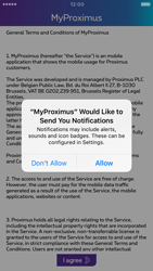 Apple iPhone 6s iOS 10 - Applications - MyProximus - Step 12