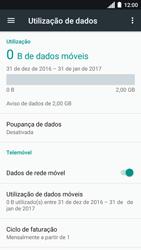 Motorola Moto C Plus - Internet no telemóvel - Como ativar os dados móveis -  6