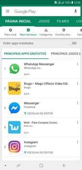 Samsung Galaxy J8 - Aplicativos - Como baixar aplicativos - Etapa 5