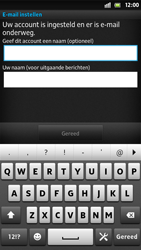 Sony LT26i Xperia S - E-mail - e-mail instellen: POP3 - Stap 15