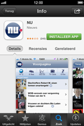 Apple iPhone 4 (iOS 6) - apps - app store gebruiken - stap 9