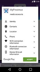 LG K10 4G K420 - Applications - MyProximus - Step 8