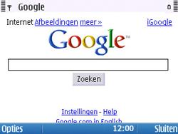 Nokia E5-00 - Internet - Hoe te internetten - Stap 5