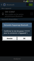 Samsung G386F Galaxy Core LTE - Bluetooth - connexion Bluetooth - Étape 9