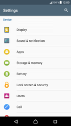 Sony Sony Xperia E5 (F3313) - Voicemail - Manual configuration - Step 4