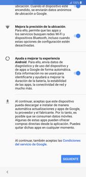 Samsung Galaxy Note 8 - Primeros pasos - Activar el equipo - Paso 14