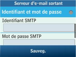 Samsung C3500 Chat 350 - E-mail - Configuration manuelle - Étape 19