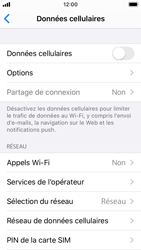 Apple iPhone SE - iOS 13 - Internet - activer ou désactiver - Étape 5