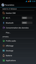 Wiko Stairway - Internet - Activer ou désactiver - Étape 4