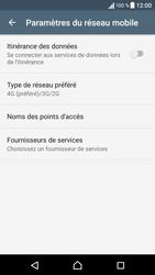 Sony Sony Xperia X (F5121) - Réseau - Changer mode réseau - Étape 6