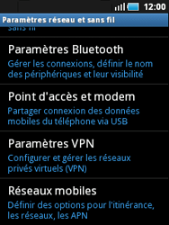 Samsung S5570 Galaxy Mini - Réseau - utilisation à l'étranger - Étape 8