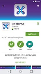 LG X Cam - Applications - MyProximus - Étape 8