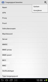 Samsung P3100 Galaxy Tab 2 7-0 - MMS - Handmatig instellen - Stap 13