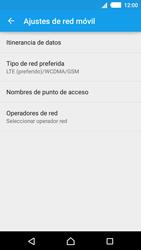 Sony Xperia M4 Aqua - Red - Seleccionar el tipo de red - Paso 6