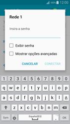 Samsung Galaxy A5 - Wi-Fi - Como configurar uma rede wi fi - Etapa 7