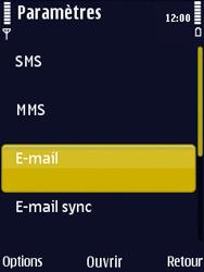 Nokia N86 - E-mail - Configuration manuelle - Étape 29