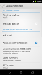 Sony D2303 Xperia M2 - Voicemail - handmatig instellen - Stap 5