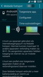 Samsung G900F Galaxy S5 - WiFi - Mobiele hotspot instellen - Stap 7