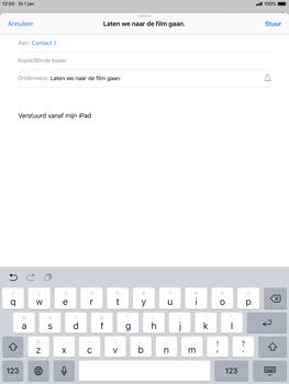 Apple ipad-mini-5-7-9-inch-2019-model-a2124 - E-mail - Bericht met attachment versturen - Stap 7