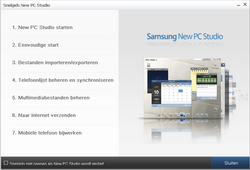 Samsung I8000 Omnia II - Software - PC-software installeren - Stap 17