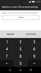 HTC Desire 510 - Sécuriser votre mobile - Activer le code de verrouillage - Étape 8
