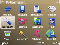 Nokia E72 - Bellen - in het buitenland - Stap 4