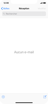 Apple iPhone X - iOS 12 - E-mail - envoyer un e-mail - Étape 2