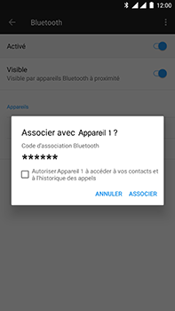 OnePlus 3 - Android Oreo - Bluetooth - connexion Bluetooth - Étape 9