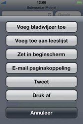 Apple iPhone 4S - Internet - hoe te internetten - Stap 10
