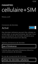 Nokia Lumia 635 - Internet - Désactiver les données mobiles - Étape 5