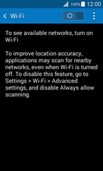 Samsung G357 Galaxy Ace 4 - Wi-Fi - Connect to Wi-Fi network - Step 5