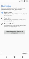 Sony Xperia XZ2 Compact - E-mail - Configuration manuelle (outlook) - Étape 15