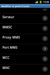 Samsung S5830i Galaxy Ace i - Mms - Configuration manuelle - Étape 10