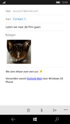 Microsoft Lumia 550 - E-mail - Hoe te versturen - Stap 15