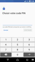 Sony Xperia XZ Premium - Sécuriser votre mobile - Activer le code de verrouillage - Étape 8