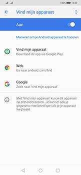 Huawei Mate 20 Pro - Toestel - Stel Zoek mijn mobiel in - Stap 6