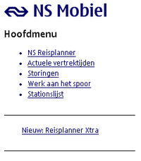 Nokia N73 - Internet - populaire sites - Stap 8