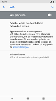 Nokia 8-sirocco-ta-1005-android-pie - WiFi - Verbinden met een netwerk - Stap 6