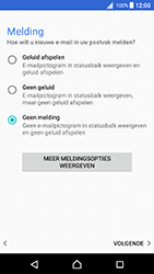 Sony Xperia X (F5121) - Android Nougat - E-mail - Account instellen (POP3 zonder SMTP-verificatie) - Stap 21
