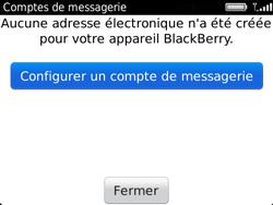 BlackBerry 9720 - E-mails - Ajouter ou modifier un compte e-mail - Étape 5