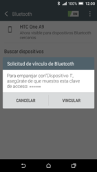 HTC One A9 - Bluetooth - Conectar dispositivos a través de Bluetooth - Paso 7