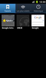 Samsung I9100 Galaxy S II - Internet - navigation sur Internet - Étape 10