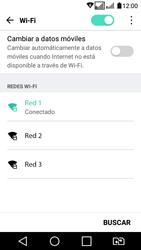 LG K4 (2017) - WiFi - Conectarse a una red WiFi - Paso 7