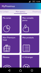 Sony Xperia M5 - Applications - MyProximus - Étape 16