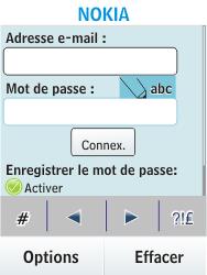 Nokia Asha 300 - E-mail - Configuration manuelle - Étape 6
